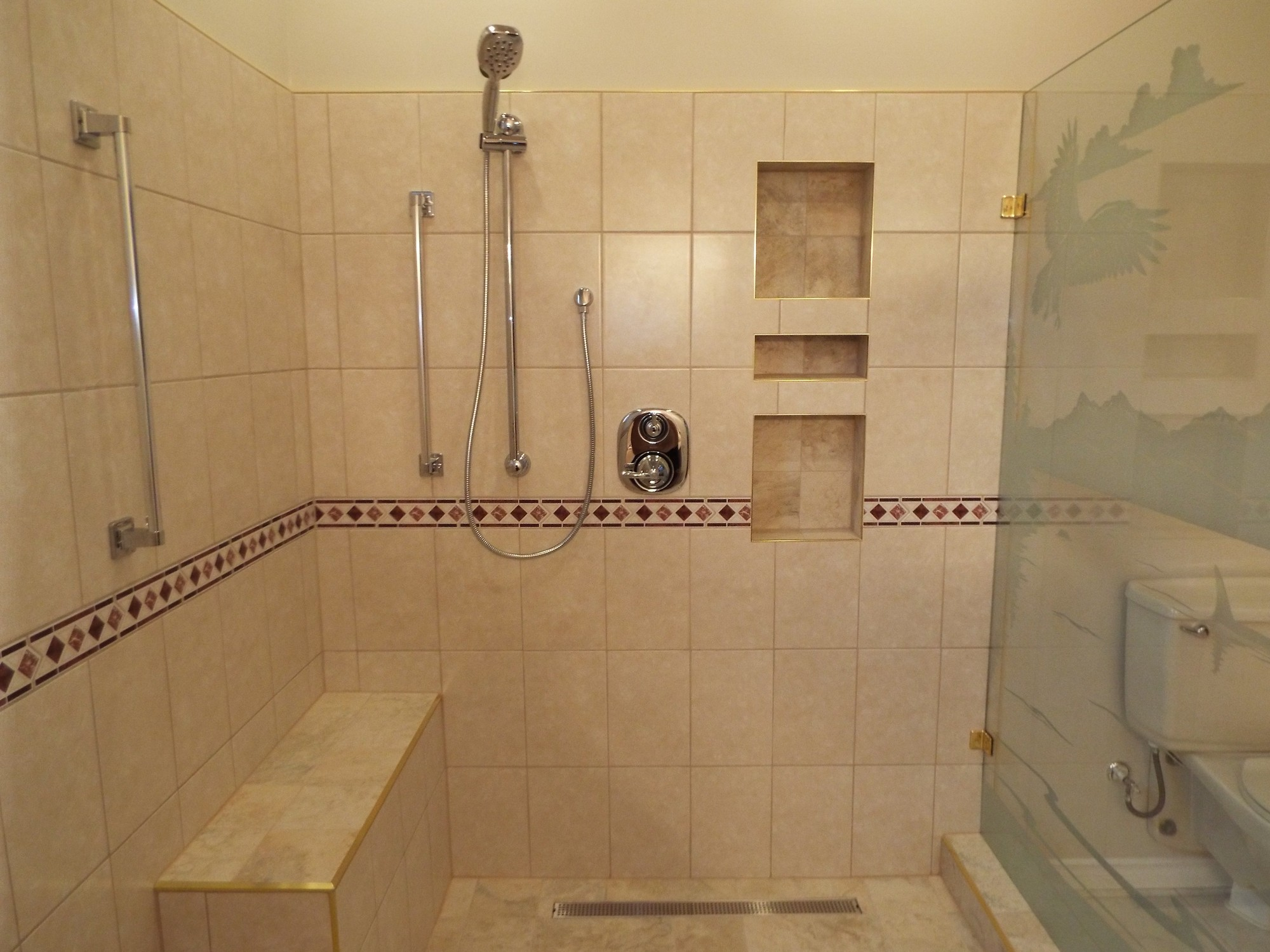 Conversion Tub To Shower Trev Homes Nanaimo Renovation